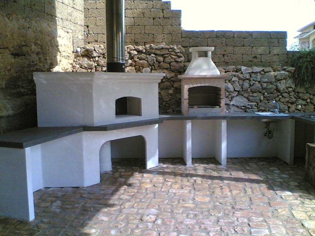 Cucina prefabbricata da esterno mod ouk2 miccich - Cucine da esterno in muratura ...