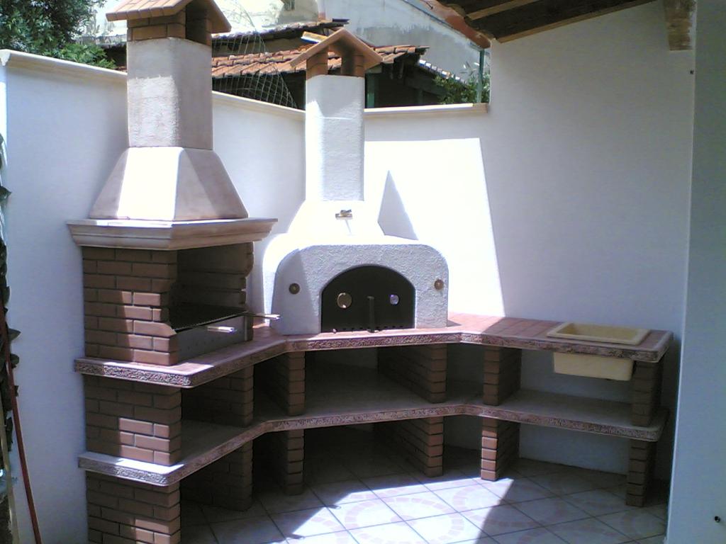 Cucina prefabbricata da esterno mod ouk1 miccich - Cucina da esterno ...