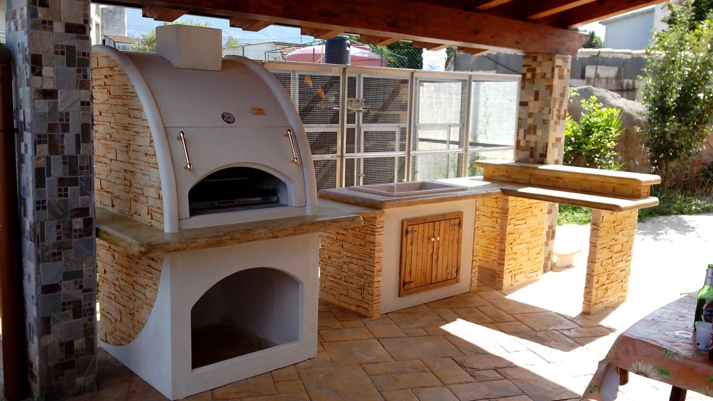 Cucina prefabbricata da esterno mod ouk19 miccich - Cucine da esterno in muratura ...