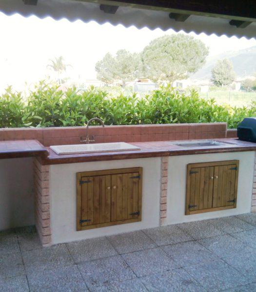 cucina prefabbricata da esterno mod. ouk22 – Miccichè ...