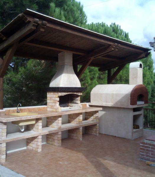 Cucine prefabbricate miccich architetture da giardino - Cucine da esterno in muratura ...