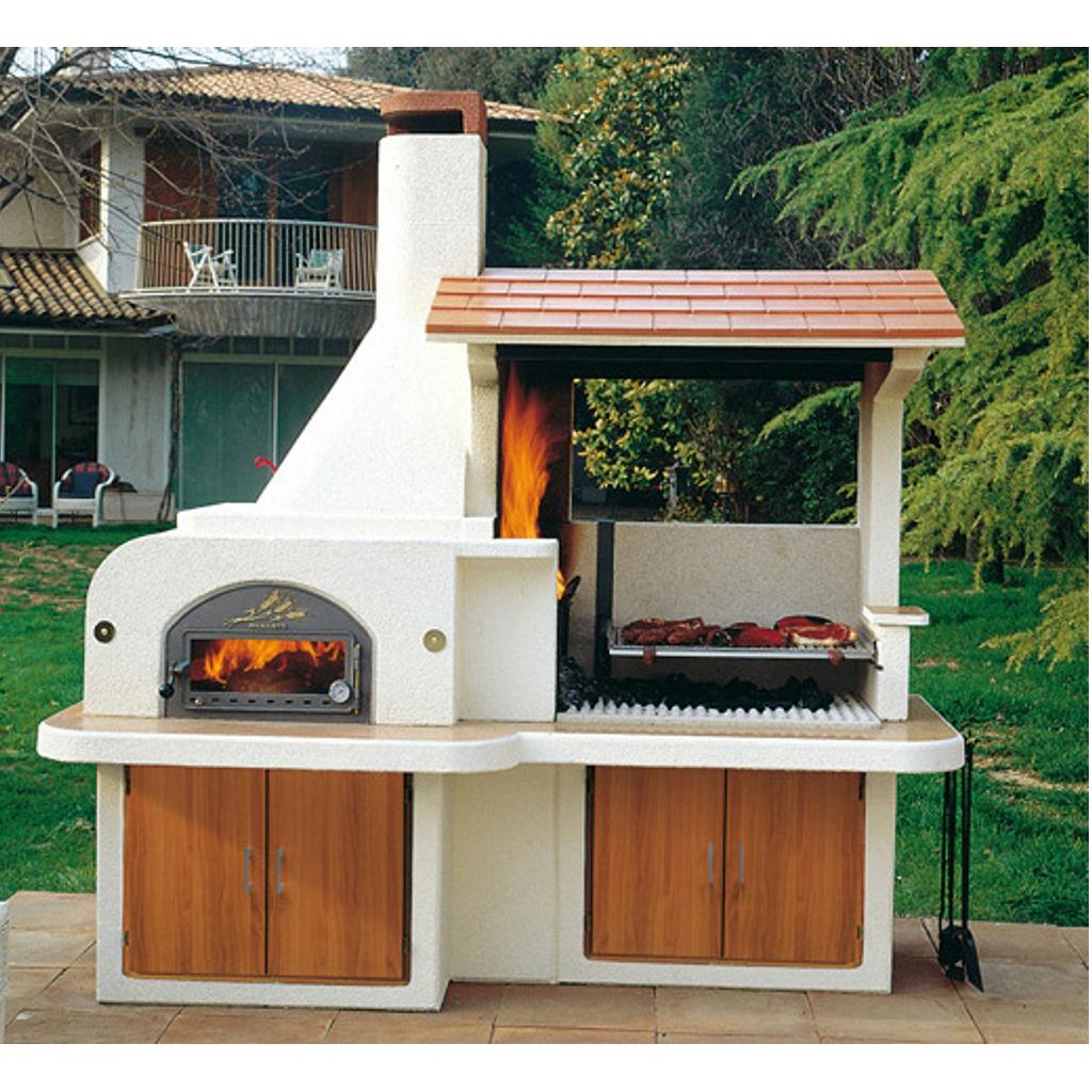 Forno barbecue antille miccich architetture da giardino - Barbecue esterno ...