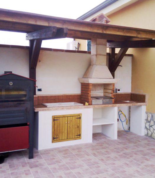 Cucine prefabbricate pagina 2 miccich architetture - Cucina in muratura da esterno ...