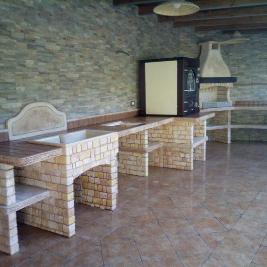 cucina prefabbricata da esterno mod. ouk12 – Miccichè – Architetture da Giardino